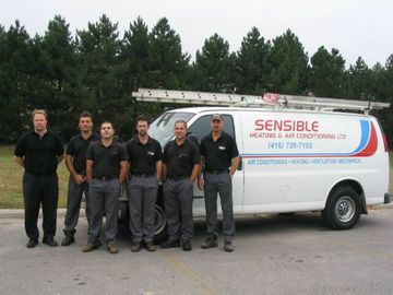 The team at SENSIBLE Heating and Air Conditioning LTD.